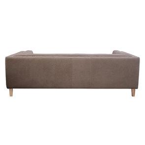 Canapé 3 places en cuir taupe - Détroit - Visuel n°5