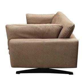 Canapé 3 places en cuir taupe - Dublin - Visuel n°7