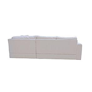 Canapé d'angle 5 places en tissu beige partie gauche - Baltimore - Visuel n°7
