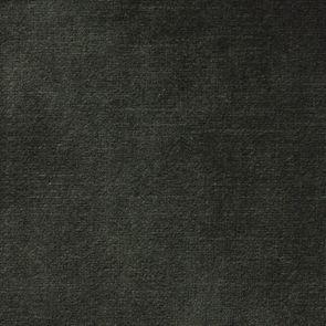 Canapé 3 places en tissu velours noir accoudoir gauche - Baltimore