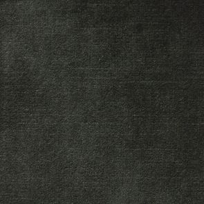 Canapé 3.5 places en tissu velours noir accoudoir gauche - Baltimore - Visuel n°3