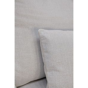 Canapé d'angle 5 places en tissu beige partie droite - Baltimore - Visuel n°5