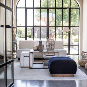 Module 1,5 places pour canapé d'angle en tissu beige - Milano - Visuel n°4