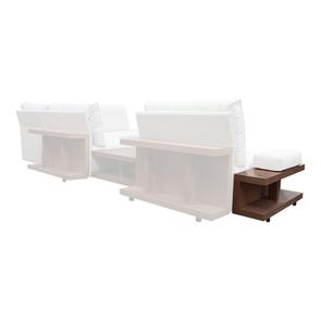 Table d'angle pour canapé en tissu modulable - Milano - Visuel n°5