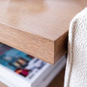 Table d'angle pour canapé en tissu modulable - Milano - Visuel n°9