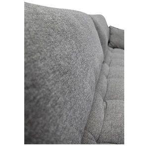 Canapé 4 places en tissu gris - Stockholm - Visuel n°15