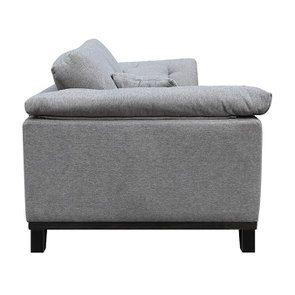 Canapé 4 places en tissu gris - Stockholm - Visuel n°11
