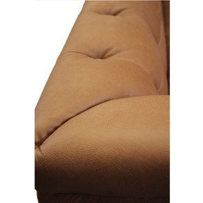 Canapé 3 places en cuir camel - Brighton - Visuel n°7