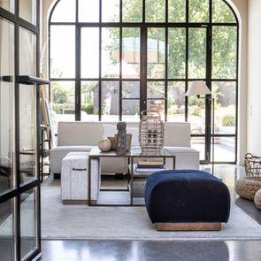 Canapé d'angle en tissu beige - Milano - Visuel n°4