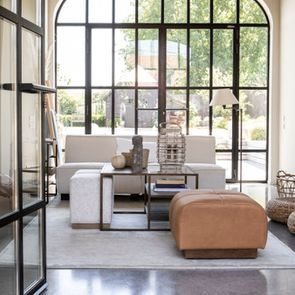 Canapé d'angle en tissu beige - Milano - Visuel n°5