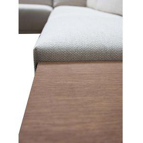Canapé d'angle en tissu beige - Milano - Visuel n°22