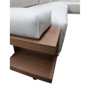 Canapé d'angle en tissu beige - Milano - Visuel n°23