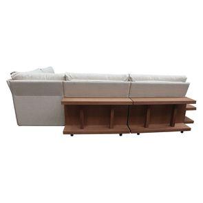 Canapé d'angle en tissu beige - Milano - Visuel n°17