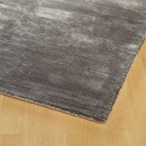 Tapis gris tissé main 170x230 - Harry