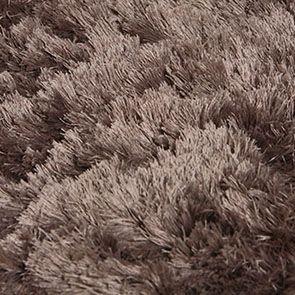 Tapis taupe à poils longs 170x230 - Polux - Visuel n°8