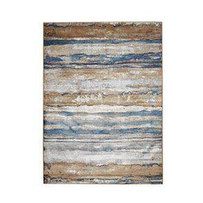 Tapis indigo motif dégradé 200x290 - Ressac - Visuel n°3