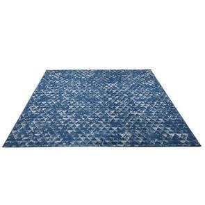 Tapis mosaïque indigo 160x230 - Mosaïque