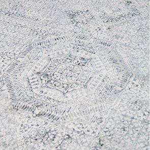 Tapis bleu à poils courts 160x230 - Milad