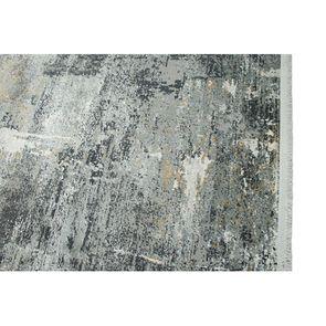 Tapis bleu/doré 160x230cm - Orage - Visuel n°8