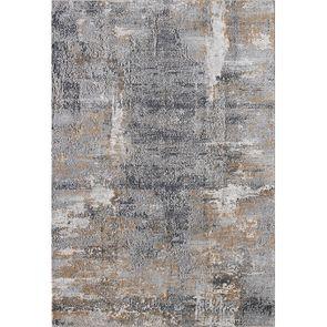 Tapis bleu/doré 160x230cm - Orage - Visuel n°3