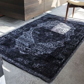 Tapis gris foncé 160x230cm - Arcus
