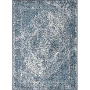Tapis persan bleu  170x240cm - Caldeira
