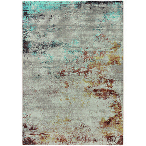 Tapis abstrait multicolore 160x230cm - Magma