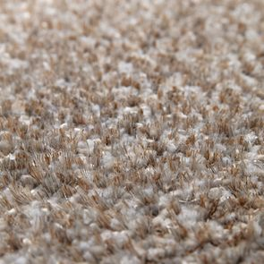 Tapis à poils mi-longs beige 160x230cm - Cirrus