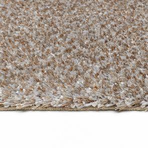 Tapis à poils mi-longs beige 200x290cm - Cirrus