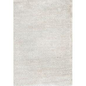 Tapis à poils mi-longs beige clair 160x230cm - Cirrus