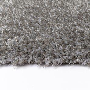 Tapis à poils mi-longs gris foncé 160x230cm - Cirrus