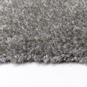 Tapis à poils mi-longs gris foncé 200x290cm - Cirrus