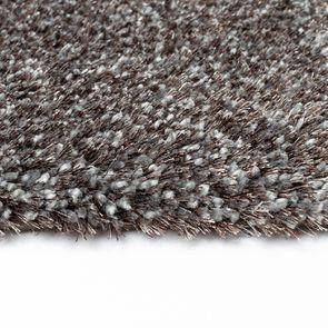 Tapis à poils mi-longs bleu gris 160x230cm - Cirrus