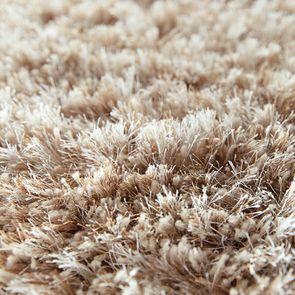 Tapis à poils longs beige foncé 160x230cm - Céleste - Visuel n°6