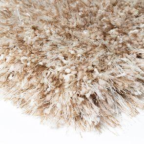 Tapis à poils longs beige foncé 160x230cm - Céleste - Visuel n°7