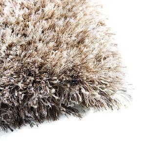 Tapis à poils longs beige foncé 160x230cm - Céleste - Visuel n°8