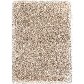 Tapis à poils longs beige foncé 160x230cm - Céleste - Visuel n°1