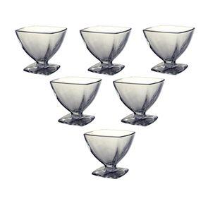 Coupes à glace en verre (lot de 6)