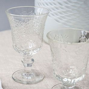 Verres à pied long (lot de 6)