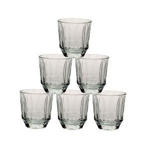 Gobelets en verre (lot de 6)