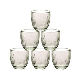 Tasses à expresso en verre (lot de 6)