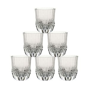 Verres à whisky transparents (lot de 6)