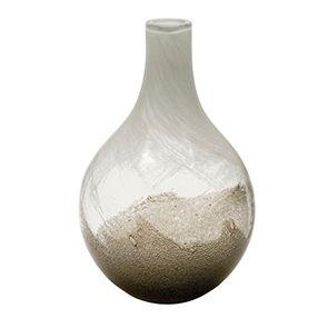 Vase en verre soufflé à la bouche dégradé