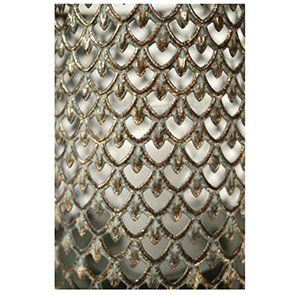 Photophore en métal à motifs - Visuel n°3