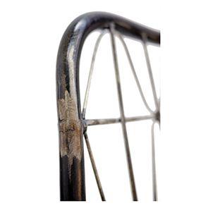 Chaise noire en acier - Factory - Visuel n°9