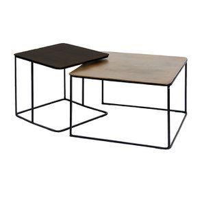 Tables basses gigognes (lot de 2) - Factory