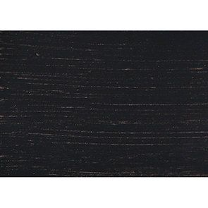 Table de chevet 2 tiroirs noire en pin massif – Manoir - Visuel n°6