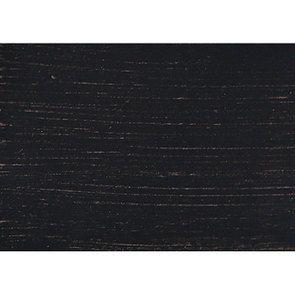 Lit pour literie 180x200 cm en pin massif noir - Manoir - Visuel n°10