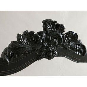 Miroir noir en pin massif - Manoir - Visuel n°5