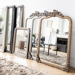 Miroir doré - Les Miroirs d'Interior's